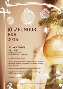 Jólafundur BKR